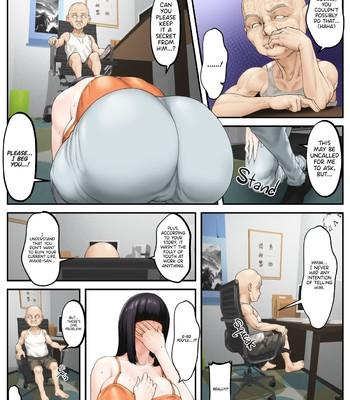 Gifu Netorare ~Mekakure Bakunyuu Hitozuma Makie Dounyuu Hen~ comic porn sex 007
