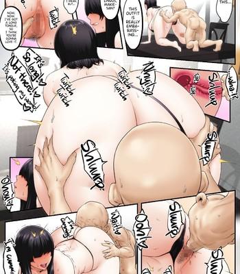 Gifu Netorare ~Mekakure Bakunyuu Hitozuma Makie Dounyuu Hen~ comic porn sex 019