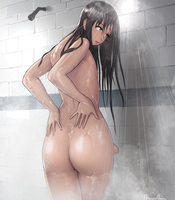 Porn Comics - [Lewdua] Alice in the Shower