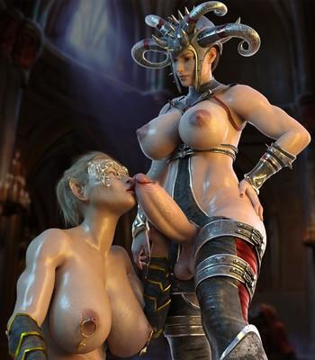Porn Comics - Passion Of Goddesses