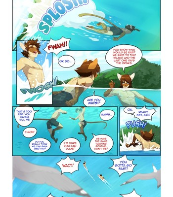 Cats love water Chapter 1-6 ( ongoing ) comic porn sex 004