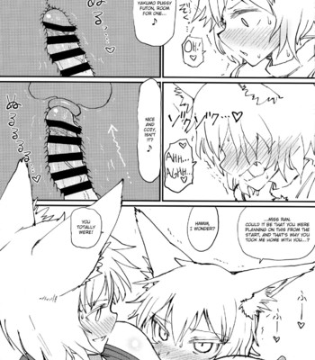 Hokahoka Kitsune Futon comic porn sex 008