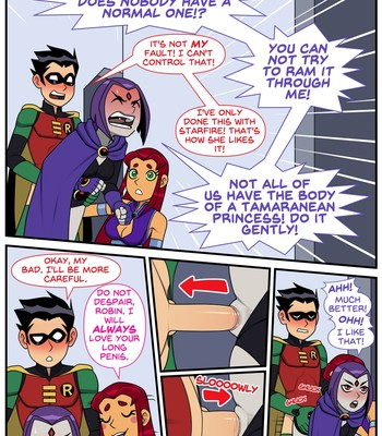 Teen Titans – Emotion Sickness (ongoing) comic porn sex 035