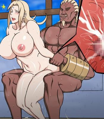 Byakugan Hime VS Tanetsuke Taihou comic porn sex 107