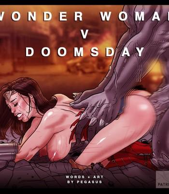 Porn Comics - Wonder Woman vs Doomsday