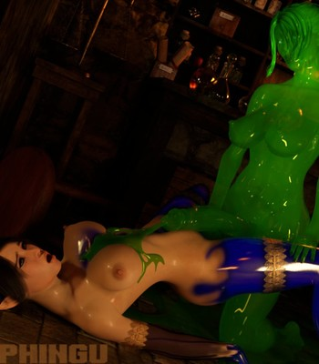 Slime of a Time comic porn sex 004