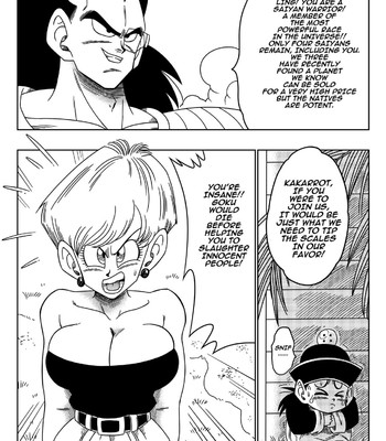 Dagonball-The Evil Brother Uncensored comic porn sex 005