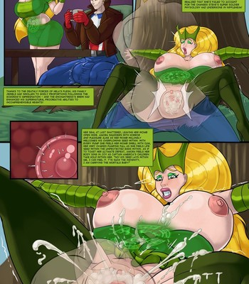 Porn Comics - Enchantress Embarrassment
