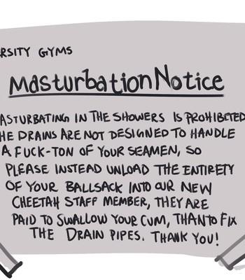 Gym Showers comic porn sex 005