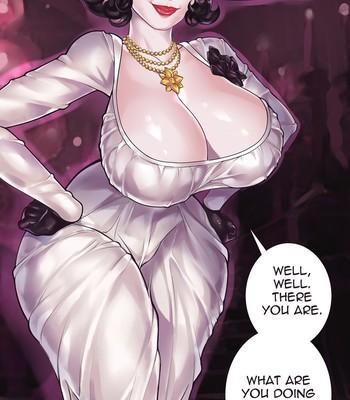 Porn Comics - Lady Dimitrescu in The Intruder