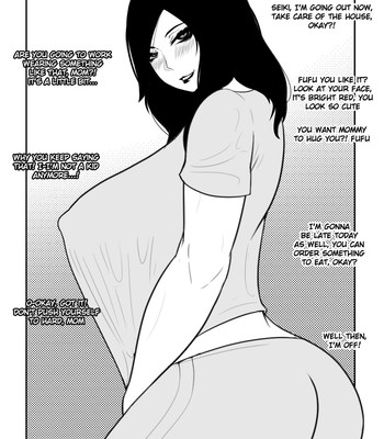 Porn Comics - NTR mother coming home late.