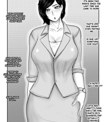 NTR mother coming home late. comic porn sex 015