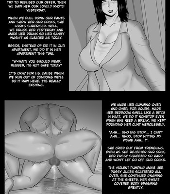 NTR mother coming home late. comic porn sex 022