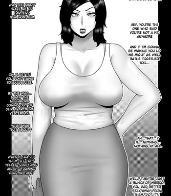 NTR mother coming home late. comic porn sex 024