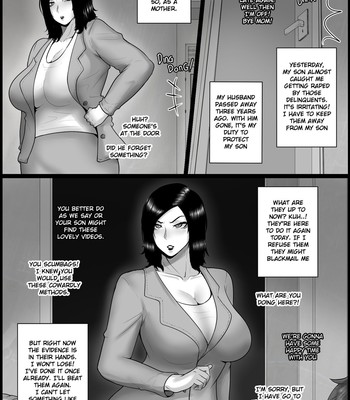NTR mother coming home late. comic porn sex 025