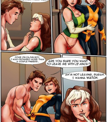 Porn Comics - Mr. and Mrs. (and Mistress) X