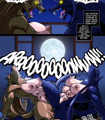 High School of the Werewolf 3 comic porn sex 022