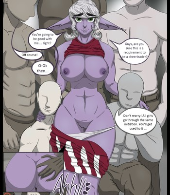 Porn Comics - Tristana, the cheerleader [Ongoing]