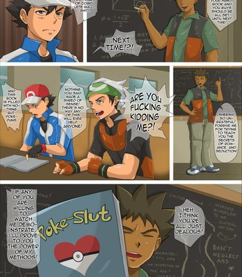 Poke-Slut: Official Trainer's Manual (ongoing) comic porn sex 002