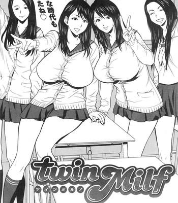 Twin Milf [Tatsunami Youtoku] comic porn sex 097