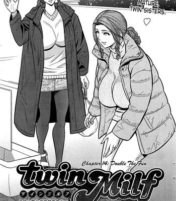 Twin Milf [Tatsunami Youtoku] comic porn sex 264