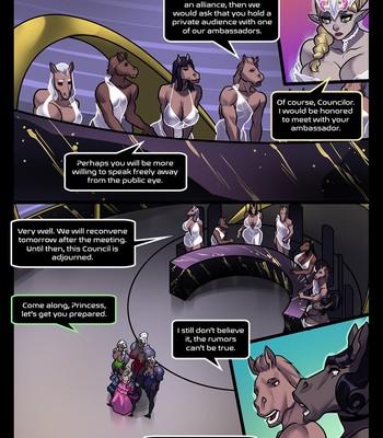 Princess Claire A Royal Endowment Chapter 4 comic porn sex 005