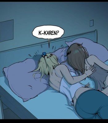 [Lewdua] Watching a Series – Nessie and Karen comic porn sex 055