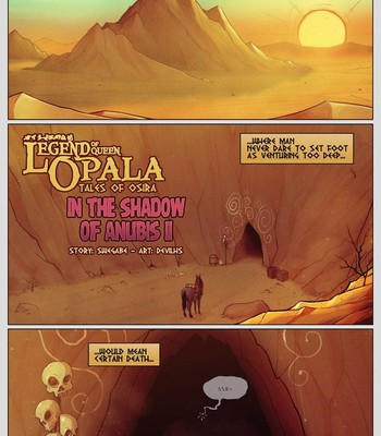 Porn Comics - [DevilHS] Legend of Queen Opala – In the Shadow of AnubisII: Tales of Osira (ongoing)