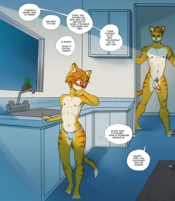 Porn Comics - Two Yellow Cat Brothers
