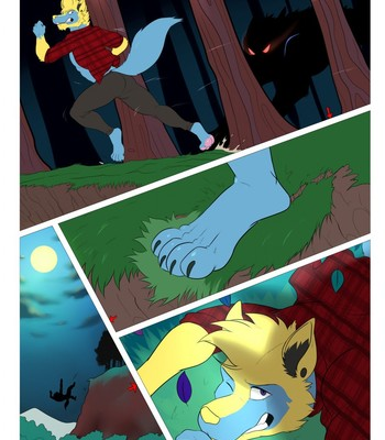 Porn Comics - Werewolf hunting!