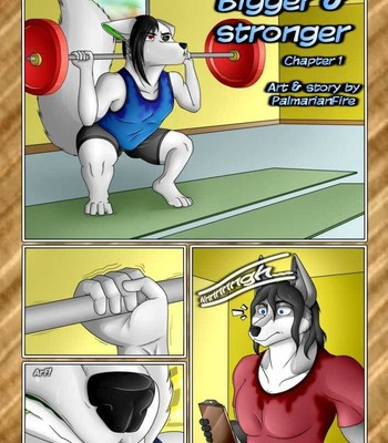 Porn Comics - Bigger &stronger chapters [(1&2)ongoing]