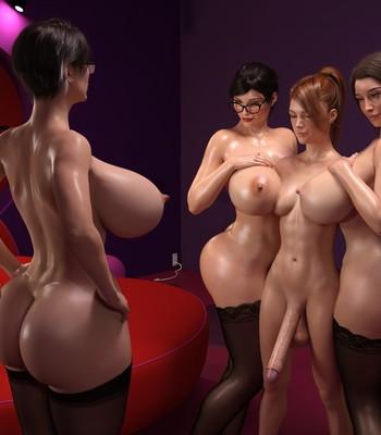 Futa Measuring Contest comic porn sex 004