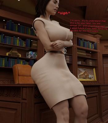 Futanari Discipline comic porn sex 013