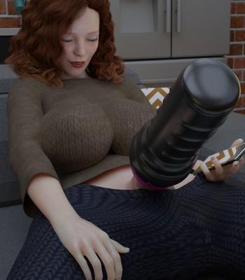 Futanari Discipline comic porn sex 031