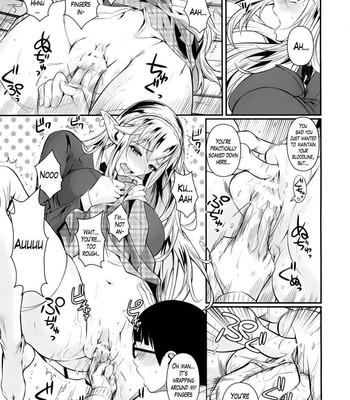 High elf X Highschool ch 1-9 comic porn sex 013