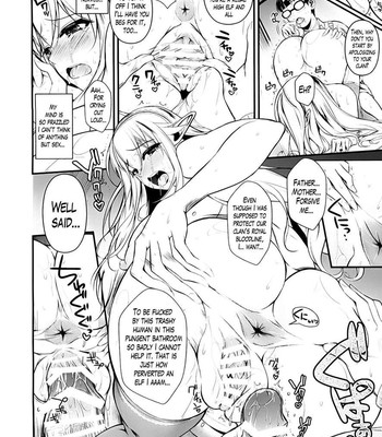 High elf X Highschool ch 1-9 comic porn sex 048
