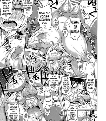 High elf X Highschool ch 1-9 comic porn sex 121