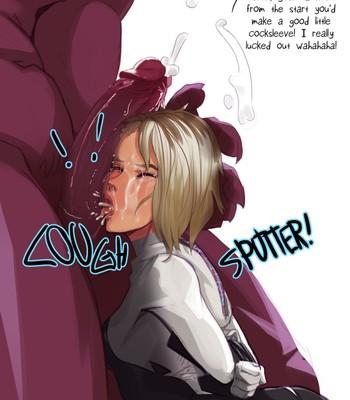 Spider-Gwen: Personal Rape-Maid comic porn sex 005
