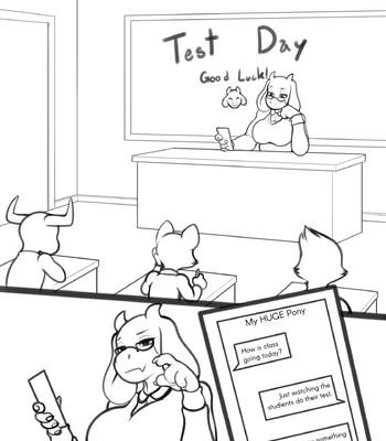 Porn Comics - Test Day