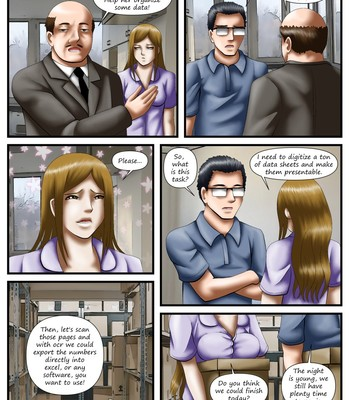 Overtime Prank (ongoing) comic porn sex 004
