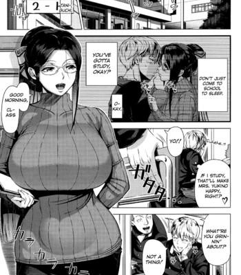 Mrs. Yukino's Sex Education Colored and Black & White comic porn sex 006