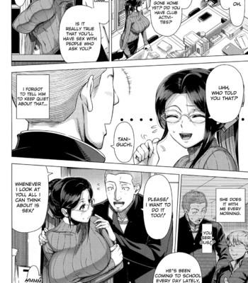 Mrs. Yukino's Sex Education Colored and Black & White comic porn sex 012