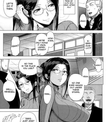 Mrs. Yukino's Sex Education Colored and Black & White comic porn sex 014