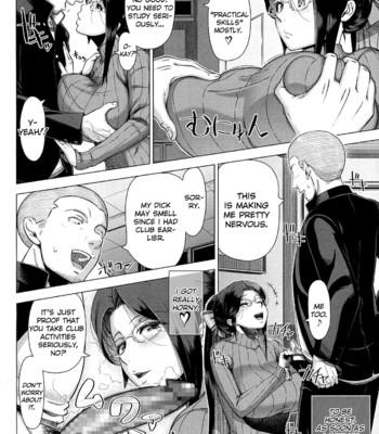 Mrs. Yukino's Sex Education Colored and Black & White comic porn sex 016