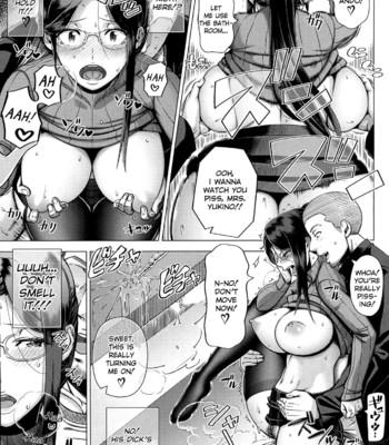 Mrs. Yukino's Sex Education Colored and Black & White comic porn sex 038