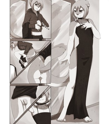 A Little Black Dress comic porn sex 003