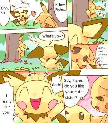 Porn Comics - Pikachu kiss pichu