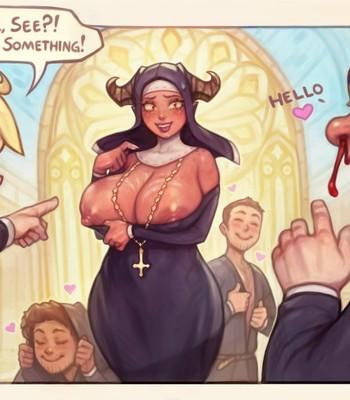 Nun Bel comic porn sex 013