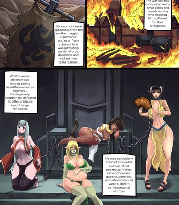 Mercenary Breeder (ongoing) comic porn sex 003