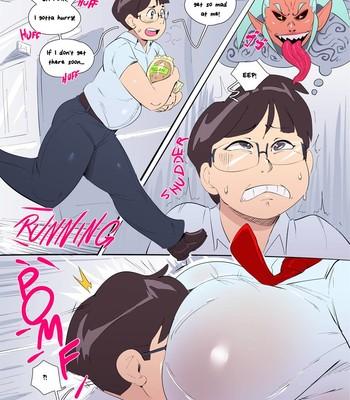 Porn Comics - My School Is Full of Yokai! (ongoing)